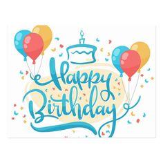 Happy Birthday In Spanish, Happy Birthday Posters, Happy Birthday Signs, Birthday Letters, Happy Birthday Balloons, Happy Birthday Messages, Happy Birthday Images, Happy Birthday Greetings, Happy 25th Birthday