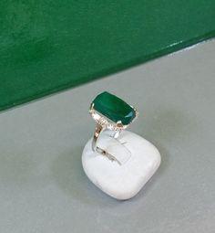 158 mm Ring Silber 925 Aventurin Nostalgie SR406 von Schmuckbaron