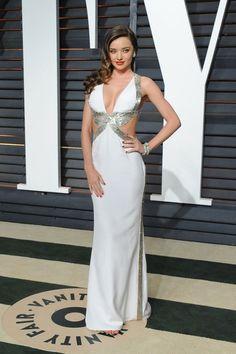 Miranda Kerr in Emilio Pucci, 2015 Vanity Fair Oscar Party