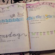 I have jumped the planner 📒🖊wagon! I really like the bullet journal idea. I ❤️ that I can just do plain ink when life is busy or go all in when time allows it. And I love tht I will never have blank pages poking me in the eyes when flipping through it. This is next week's spread heavily inspired by @hhbujo 💕...#planning #plannerlove #planner #bujo #bulletjournal #weekly #leuchtturm1917 Poke Me, Flipping, Bujo, I Can, Journaling, Bullet Journal, Ink, Inspired, Eyes