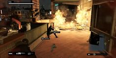 PS4 WATCH DOGS Gameplay - Flying Bullets - HD