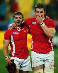 Leigh Halfpenny and Dan Lydiate