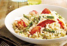 risotto homard asperges, délicieux!! De Coup de Pouce!