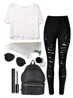 """Untitled #758"" by ellaroark ❤ liked on Polyvore featuring MANGO, adidas Originals, Yves Saint Laurent, 3.1 Phillip Lim and Chanel"