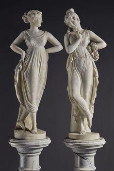 Photographie Art Corps, Greek Statues, Roman Sculpture, 3d Figures, Greek Art, Aesthetic Art, Traditional Art, Art History, Art Reference