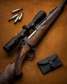 Westley Richards WSM bolt action rifle built in Kurtz action. Military Weapons, Weapons Guns, Guns And Ammo, Bushcraft, Rifle Stock, Long Rifle, Bolt Action Rifle, Firearms, Shotguns