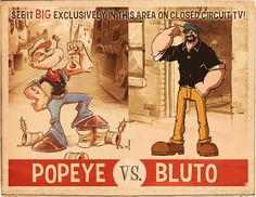 POPEYE VS BLUTO | Nautical | Pinterest Popeye The Sailor Man And His Wife