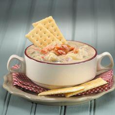 Potato Leek Soup with Smoked Salmon