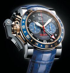 Graham | Chronofighter Oversize GMT | Edelstahl | Uhren-Datenbank watchtime.net