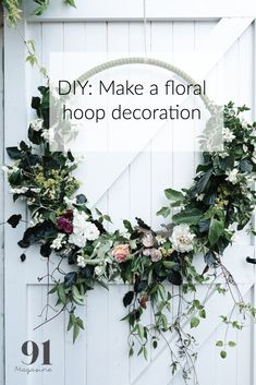 DIY Wedding Centerpieces: Tips and How-To - Put the Ring on It Diy Wedding Bouquet, Diy Wedding Flowers, Wedding Flower Arrangements, Floral Arrangements, Diy Flowers, Wedding Ideas, Floral Backdrop, Floral Hoops, Wedding Table Centerpieces
