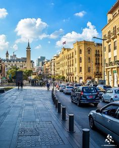 Have a beautiful morning everyone from downtown Beirut