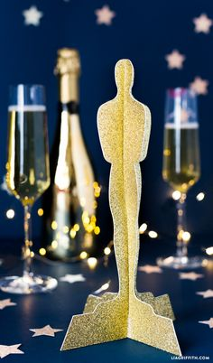 #oscarsparty #partydecor #oscarsstatue www.LiaGriffith.com