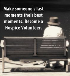 In 2012, an estimated 1.5 to 1.6 million patients received hospice services. You can make a difference in one of these lives. Become an Assisted Home Hospice Volunteer and see how rewarding it is to make someone's last moments their best moments.  Visit us at www.assisted1.com or email at volunteerforhospice@assistedca.com to become a volunteer today.  #HospiceCare #Volunteer #TheAssistedDifference