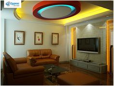 Install the best of Gyproc India ‪#‎falseceilings‬ & experience a serene & lovely home. Visit www.gyproc.in