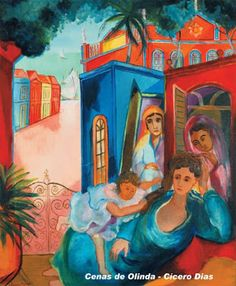 Cícero Dias Van Gogh, Watercolor, Fine Art, Canvas, Explorer, Paintings, Art History, Visual Arts, Sketches