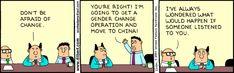 Dilbert - Change Mangement