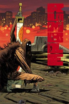 Rumble #6 by James Harren *