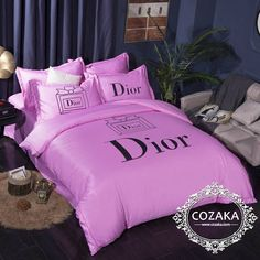 Silk Bedding, Bedding Sets, Bed Sheet Sets, Bed Sheets, Dior, Luxury Bedding, Comforters, Romantic, Blanket