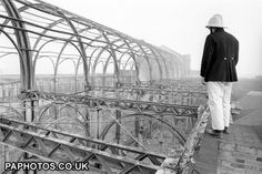 Alexandra Palace Fire - London