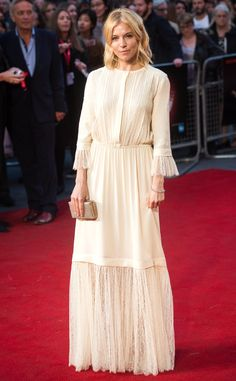 Sienna Miller from The Best of the Red Carpet   E! Online