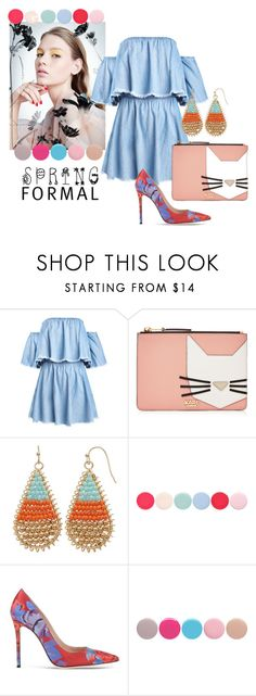 """""""Spring is here!"""" by beautifulgirlsblog on Polyvore featuring Karl Lagerfeld and Nails Inc."""