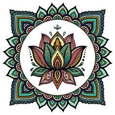 A relaxing beautiful color mandalas. art journaling class in Mandala Doodle, Mandala Art Lesson, Mandala Artwork, Mandala Drawing, Mandala Painting, Dot Painting, Mandala Coloring Pages, Yoga Art, Hippie Art