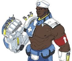 Doomfist combat medic , he fists heals into you Overwatch Doomfist, Overwatch Video Game, Overwatch Memes, Character Concept, Character Art, Character Design, Xbox One, Overwatch Skin Concepts, Doom Fist