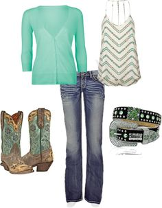 """""""summer country chick"""" by countryluver2013 ❤ liked on Polyvore"""
