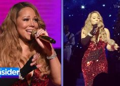Yikes! How Mariah Carey Handled Multiple Mishaps at Christmas Show
