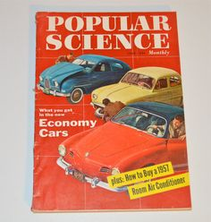 1957 Popular Science Magazine June 1957 Vintage Ads by WVpickin