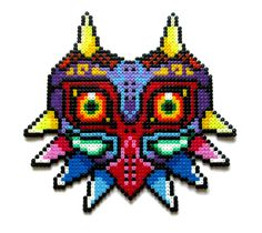 Made with hama perler beads Here is a real life shot to get an idea of the size: I might sell this later on in my Etsy shop: www.etsy.com/shop/AenysBeadArt Other sprites I made: