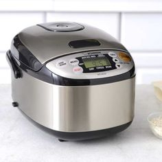 tac 11kn ul 11 cup multi functional stainless steel rice cooker silver gray