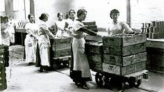British women who made jam for the frontline.