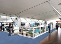 IKEA have installed a temporary lounge at Charles de Gaulle airport in Paris. Ikea Lounge, Paris Airport, Airport Lounge, Interior Architecture, Interior Design, Relax, Swedish House, Pop Up Shops, Dezeen