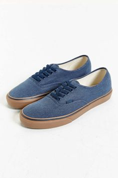 Vans Authentic Washed Gum Sole Sneaker