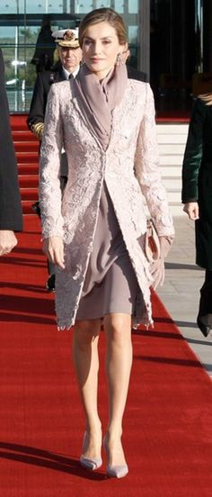 Queen Letizia of Spain. Lovely!