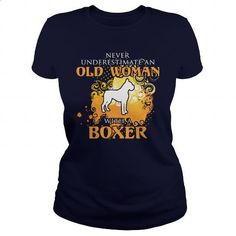 Boxer Dog - #t shirt printer #transesophageal echo. BUY NOW => https://www.sunfrog.com/LifeStyle/Boxer-Dog-126469554-Navy-Blue-Ladies.html?60505