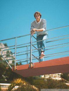 Alexander Zverev para Corriere della Sera Style Junio