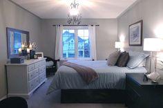 Spare bedroom idea. Nice and simple