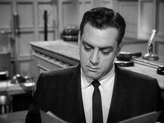 Perry Mason ~ As a child I never really watched Perry Mason. It always came on at my bedtime so my parents' goal was to get me in bed before it started. My memory of Perry Mason, therefore, was of hearing the theme song playing in the living room as I dropped off to sleep.