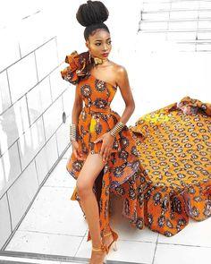 Latest Ankara Gown Styles Most Trendy Ankara Designs for Ladies. African Fashion Ankara, African Inspired Fashion, Latest African Fashion Dresses, African Print Fashion, Africa Fashion, African Prints, African Fabric, Ankara Styles For Women, Ankara Gown Styles