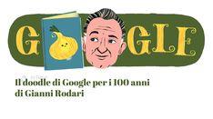 Il doodle che vediamo oggi sulla home di Google è dedicato ai 100 anni dalla nascita di Gianni Rodari, celebre e indimenticato autore di libri per bambini. Google Doodles, Palette, Boys, Fictional Characters, Color, Baby Boys, Colour, Pallets, Senior Boys
