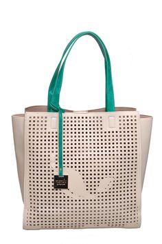 bolso de hombro troquelado www.abrile.com