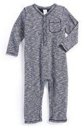 Nordstrom Baby Space Dye Jersey Romper (Baby Boys) (Nordstrom Exclusive)