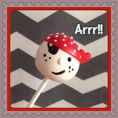 12 Pirate Cake Pops Birthday Party Favors Buccaneer Sweets Table Candy Buffet