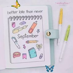 Back To School Themed Bullet Journal Setup This September I decided to do a stationery theme in my Bullet Journal and so far it's my absolute favorite one. Check out what pages I created and how you can make beautiful stationery themed Bullet Journal spreads. Plus get your free themed weekly printable! #mashaplans #bulletjournal #stationery #backtoschool<br> I've always wanted to create a back to school theme in my Bullet Journal! Check out my monthly setup and get inspirations on how to add… Bullet Journal School, Bullet Journal Writing, Bullet Journal Banner, Bullet Journal Aesthetic, Bullet Journal Spread, Bullet Journal Inspo, Bullet Journal Layout, Bullet Journal Birthday Page, Bullet Journal Inspiration Creative