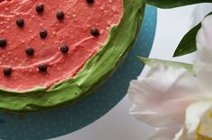 Torte, Kindergeburtstag, Wassermelonen, Melonentorte, Gartenparty, Sommerparty, Sommertorte, Schwesternliebe, Trier
