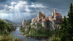 Fantasy castle. - Pixdaus