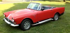 Sunbeam Alpine Tiger with Side Exhaust. She will be mine, oh yes, she will be mine...