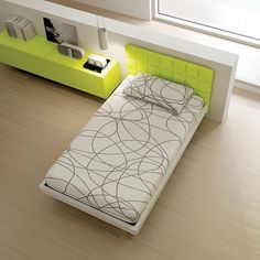 Schlafzimmer / bedroom #green #gruen